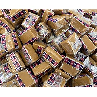 LaetaFood Brach's Milk Maid Caramels Squares Candy, Individually Wrapped (Bulk of 3 Pound)