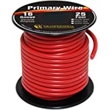 Grand General 55231 Red 16-Gauge Primary Wire