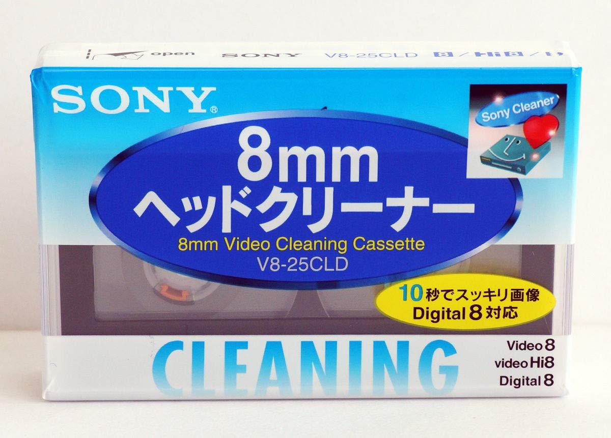 ソニー Hi8/ デジタル8/ 8ミリビデオ用 画の出るへッドクリーナー 【SONY】   B019CLWB86