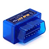 Vgate Super Mini Bluetooth OBD2 Scan Tool Chip PIC18F25K80 OBDII Car Diagnostic Code Reader Check Engine Light for Android & PC