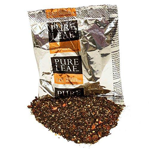Pure Leaf Peach Black Tea, 3 Ounce -- 24 per case. by Pure Leaf
