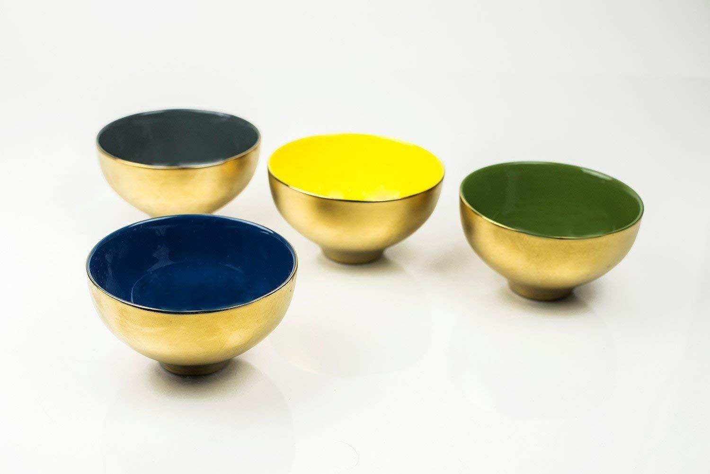 Yedi Desert Gold Bowls, Set of 4 Yedi Houseware SYNCHKG080033