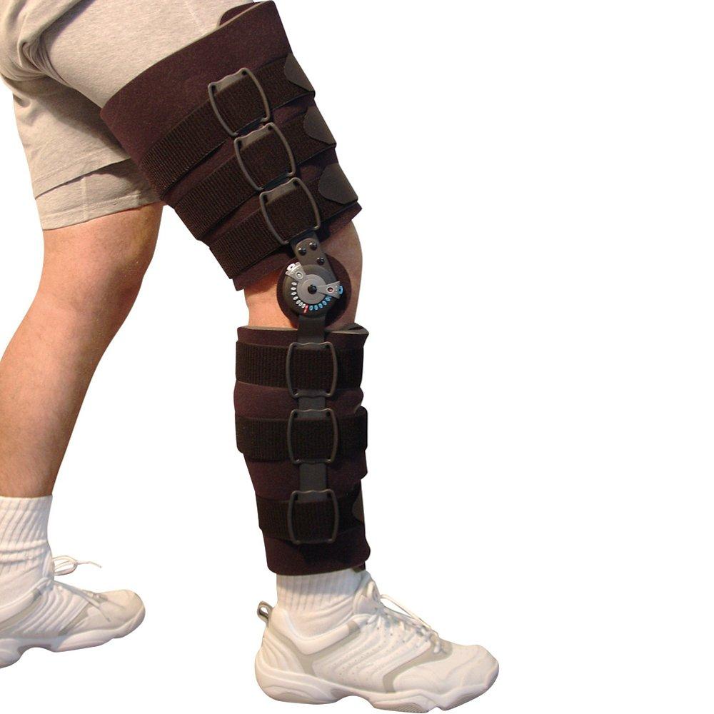 Post Op Knee Brace, ROM Adjusting, Cool Foam Padding