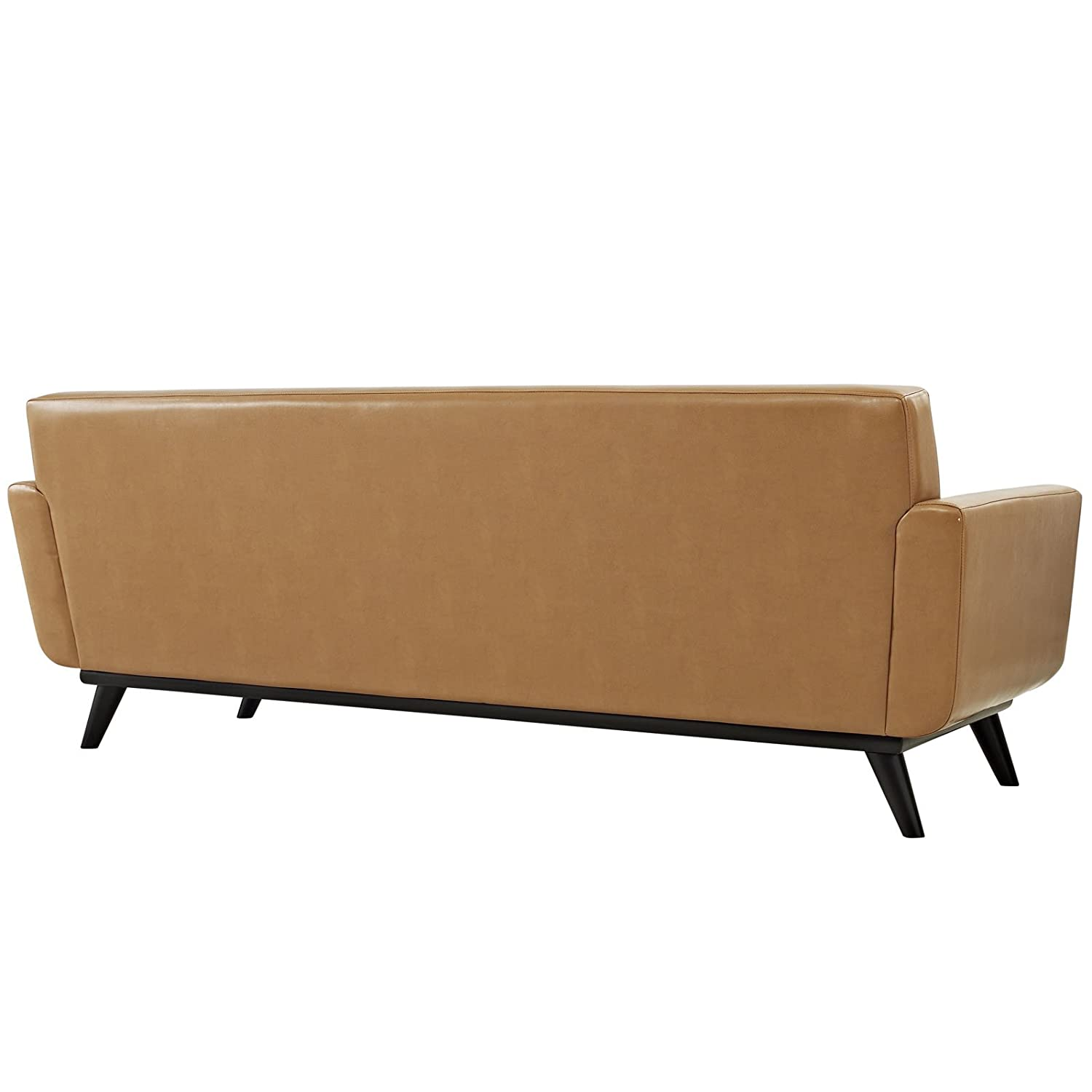 Amazon Modway Engage Mid Century Modern Upholstered Leather