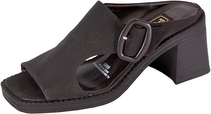 Wide Width Comfort Heeled Sandals