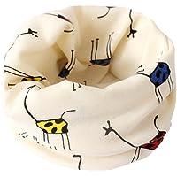 Bufanda BIGBOBA de puro algodón para niños. Bufanda calentadora de cuello para viajar al aire libre en otoño y en…