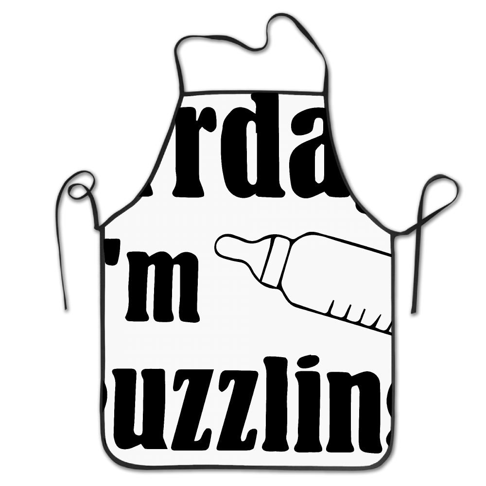 XCGWA Everyday Im Guzzling Deluxe Aprons Personalized Printing Kitchen Apron