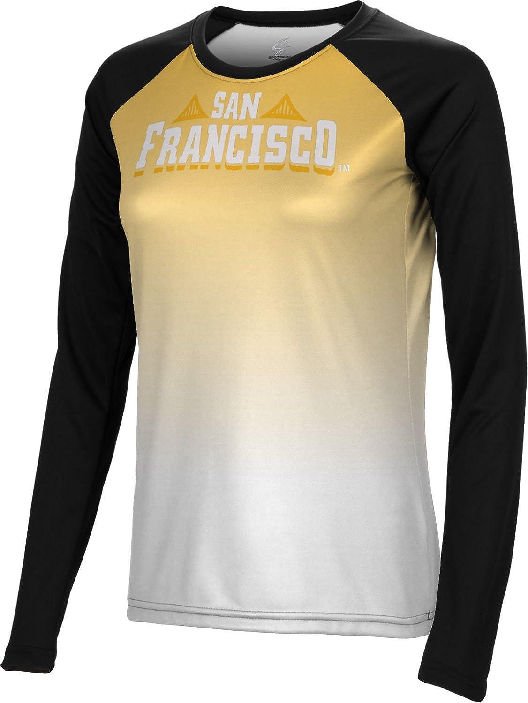 Spectrum Sublimation Women's University of San Francisco Gradient Long Sleeve