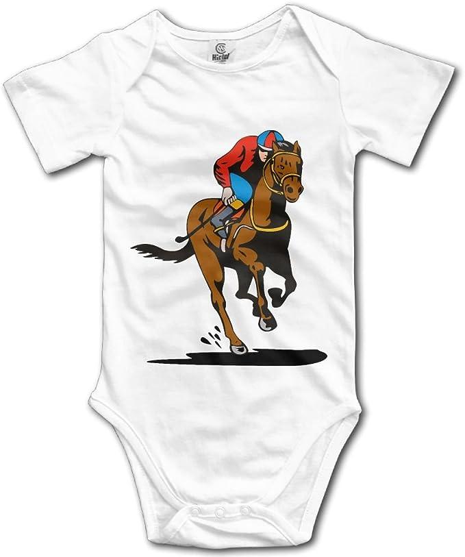Amazon.com: Fuente punto Racing caballo recién nacido niño ...