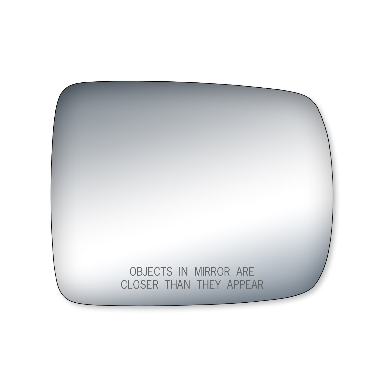 Fit System 90157 Honda Element Passenger Side Replacement Mirror Glass