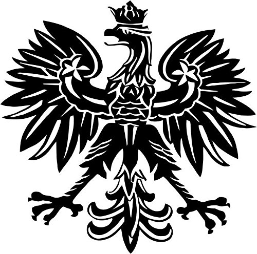 Polish Eagle Emblem Symbolic Vinyl Decal Sticker Car Window Truck Bumper- 6
