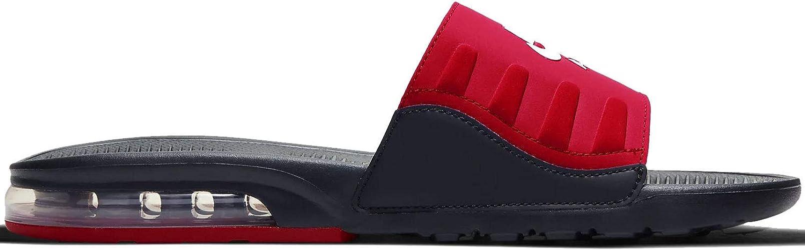 Nike Air Max Camden Slide, Rouge (Noir/rouge/blanc), 47 EU ...