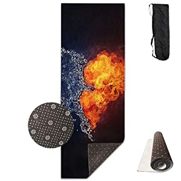 Amazon.com: Taoyzi Non-Slip Fashion-Forward Water and Fire ...
