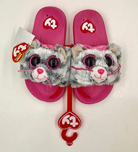Image Unavailable. Image not available for. Color  BEANIE BOOS TY Kiki Slides  Flip Flops Sandals ... 2d29d4282832