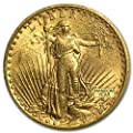 1907 - 1933 $20 Saint-Gaudens Gold Double Eagle BU (Random Year) G$20 Brilliant Uncirculated