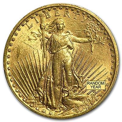 1907 - 1933 $20 Saint-Gaudens Gold Double Eagle BU (Random Year) G$20 Brilliant Uncirculated