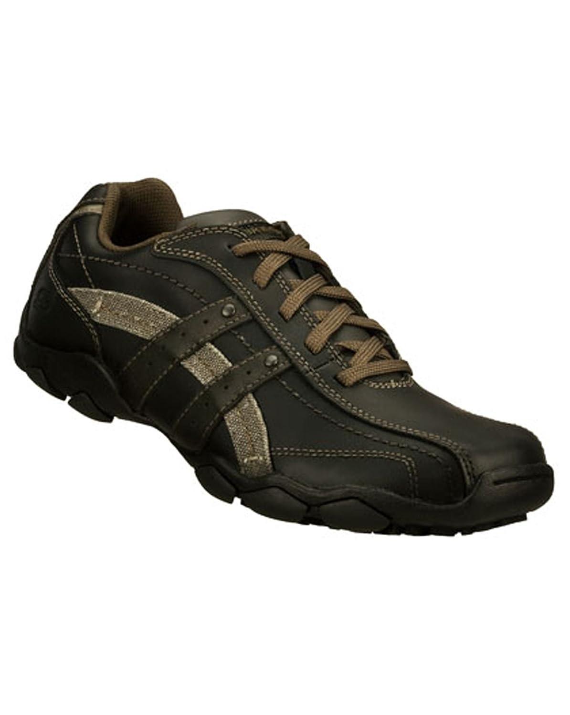 295f46a5d6da Skechers 63385 Mens Diameter Blake Shoe Mens Lace Mens Shoes Black UK 9   Amazon.co.uk  Shoes   Bags