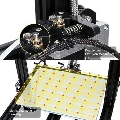 Creality CR-10 - Mini impresora 3D (aluminio con impresión de ...
