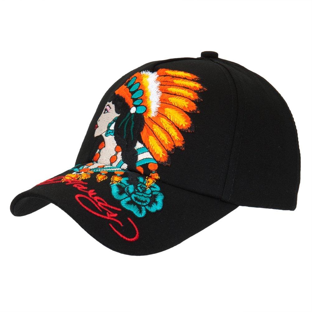 Amazon.com: Ed Hardy - Native American Woman Girls Youth Adjustable Baseball Cap: Clothing