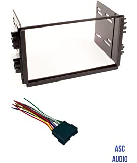 Amazon.com: ASC Car Stereo Radio Install Dash Kit, Wire Harness, and on car fuse, car stereo cover, car speaker, car stereo with ipod integration, car stereo alternators, 95 sc400 stereo harness, car stereo sleeve, leather dog harness, car wiring supplies,
