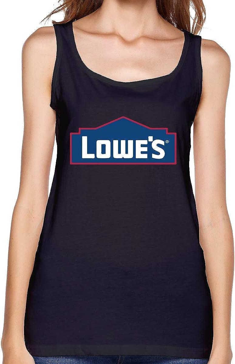 Amazon.com: Haohiyo Women's Lowes-Logo Tank Top Sleeveless