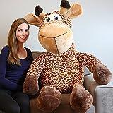 Yesbears 5 Feet Giant Giraffe ( Microfiber Body )