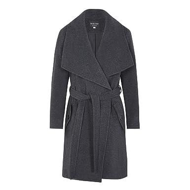81e2017f3fdf Anastasia Frauen Winter Wolle Kaschmir Wrap Coat  Amazon.de  Bekleidung