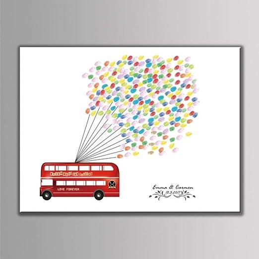 Creative DIY Finger Bus Globo Patrón Fiesta De Bodas ...