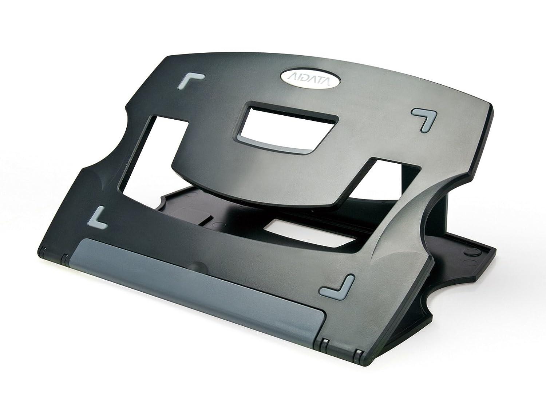 AIDATA Adjustable Laptop Stand, Foldable and Portable Laptop Stand Fits Most 9 to 15.6 Inch Laptops/Notebooks/Tablets, 6 Angle Adjustment Settings NS011BG