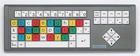 bigkeys LX – ABC Disposición (códigos de Color): Amazon.es ...