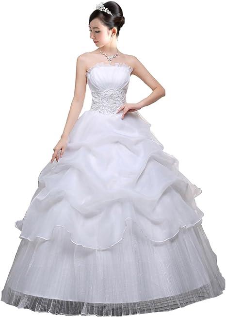 Amazon Co Jp アンダブル Anw ウェディング ドレス 二次会