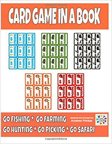 Book Card Game in a Book - Go Fishing Variations: Volume 1