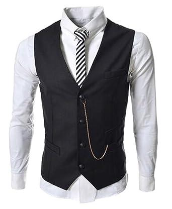 Amazon.com: DD. Up Mens Tie Business slim fit Cotton botón ...