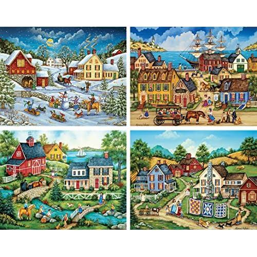 Free Shipping Masterpieces Bonnie White Collection Folk