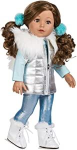 """Adora Amazing Girls 18-inch Doll, """"Ice Skating Ava"""" (Amazon Exclusive) Compatible With Most 18 Inch Doll Accessories And Clothing (218803)"""