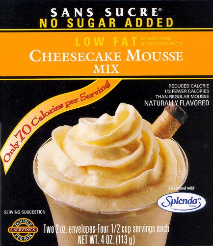 Sans Sucre Cheesecake Mousse Mix - Gluten Free