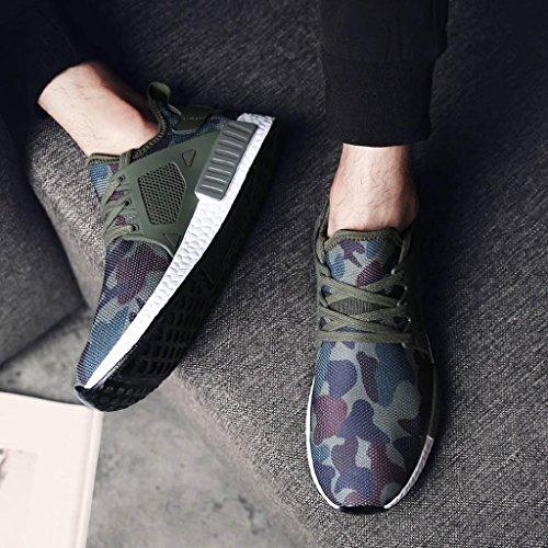 Asia Scarpe Moda Scarpe Bordo Casuale Sneakers 40 da Sneakerboots Sportive Ginnastica Nuovo Uomini Uomo Sneakers Nero Traspiranti zxnz6rq