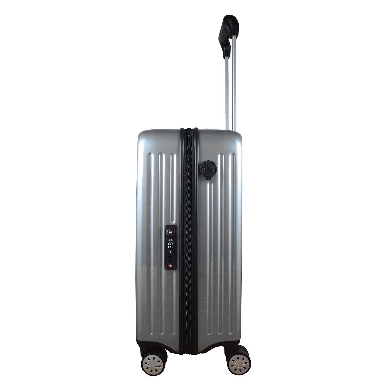 377e7f3b0b11 Amazon.com: NHL Anaheim Ducks Premium Hardcase Carry-on Luggage ...