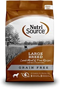 Tuffy'S Pet Food Nutrisource Grain-Free Lamb Meal & Peas Formula Dry Dog Food