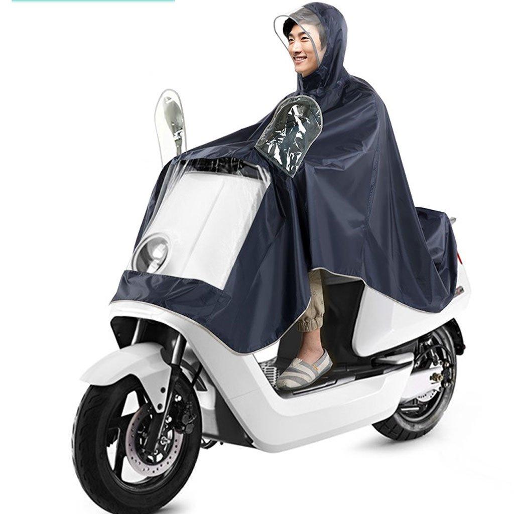 DUHUI Chubasquero/Poncho Chubasquero monocasco para Hombres y Mujeres en Moto Poncho para Motocicleta