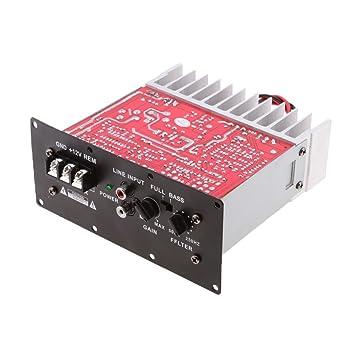 MagiDeal Subwoofer Amplificador de Audio para Automóvil 12v 150w Módulo PCB Placa Kit: Amazon.es: Electrónica
