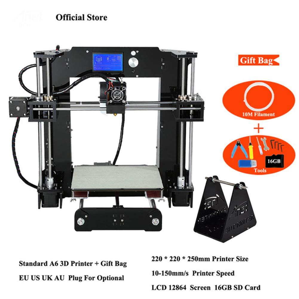 Impresoras 3D Anet A6 Kits De Impresora 3D Repulsión I3 Bricolaje ...