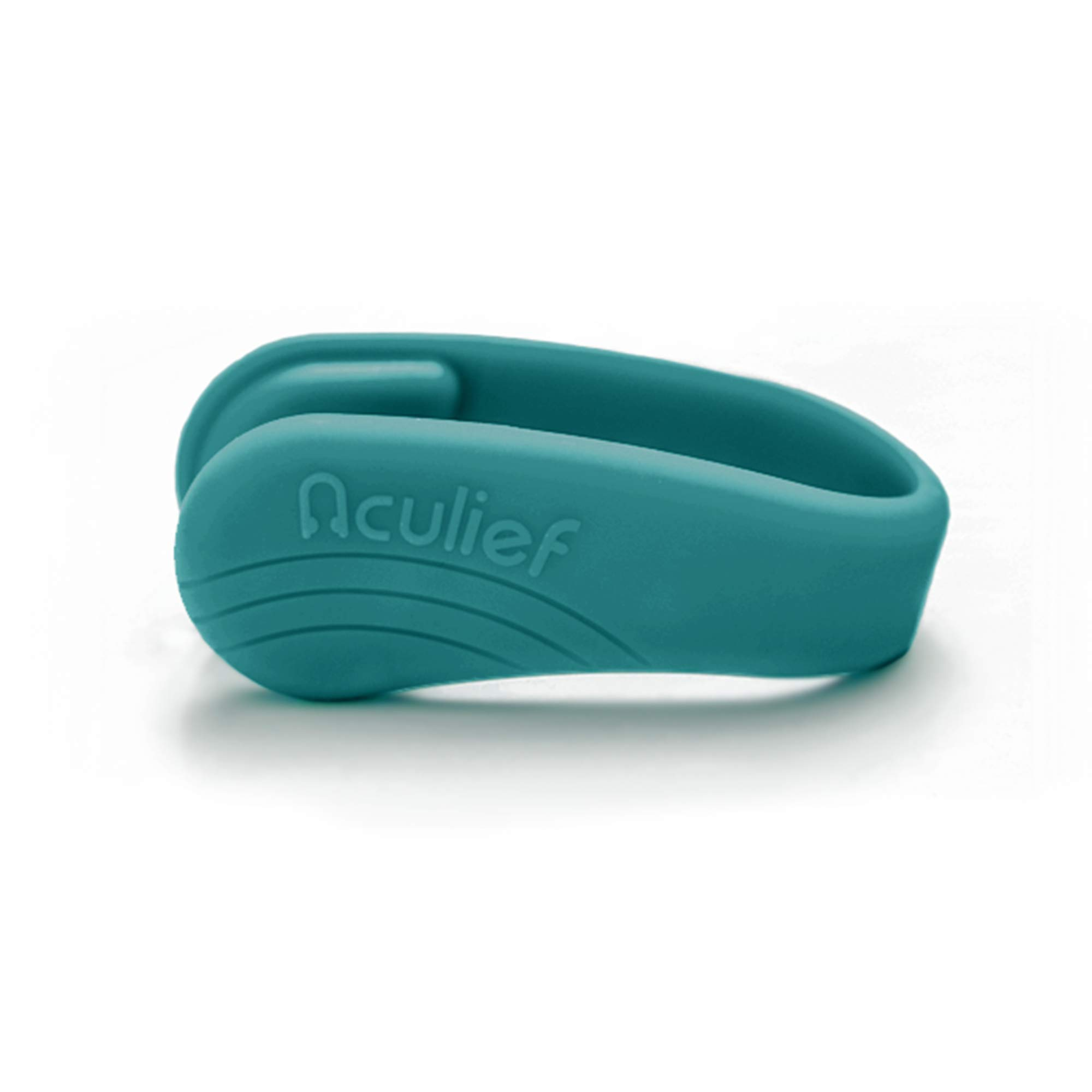 Aculief- Award Winning Natural Headache and Tension Relief - Wearable Acupressure (Teal) by Aculief