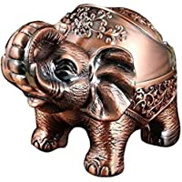 Elephant Ashtray with Lid Windproof Ashtrays for Cigarettes Outdoor Ashtray for Weed Cool Ashtrays Fancy Ash Tray Sets…