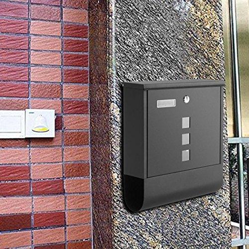 Small Standard Locking Mailbox - 4