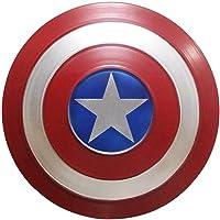 Escudo Capitan America Metal 1: 1 Adulto Apoyos de Película Niños Hierro Forjado CapitáN AméRica Shield Vengadores…