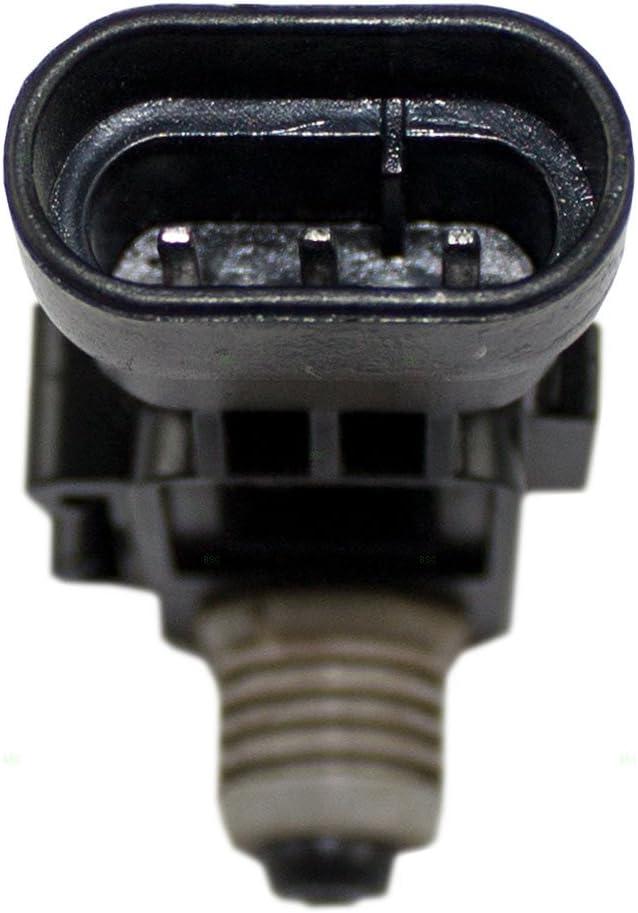 Fuel Pump Tank Vapor Vent EVAP Pressure Sensor Replacement for Acura Honda Saab /& GM Various Models 16238399 AutoAndArt