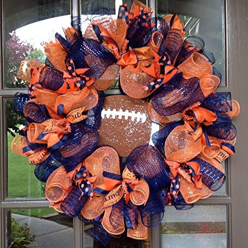 Flora Decor Auburn Tigers Collegiate Wreath - 24'' by Flora Decor (Image #2)