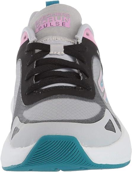 Skechers GO Run Pulse, Zapatillas para Mujer, Blanco Blanco Textil Multi Trim Wmlt, 36.5 EU: Amazon.es: Zapatos y complementos
