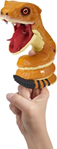 WowWee Untamed Snakes - Toxin (Rattle Snake) - Interactive Toy